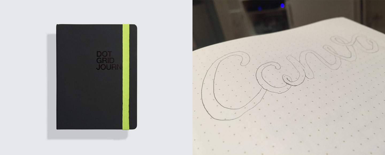 Behance Dot Grid Journal
