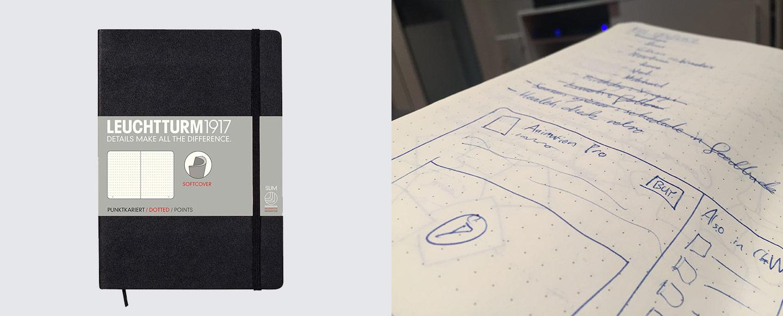 Leuchtturm1917 A5 Softcover Notebook